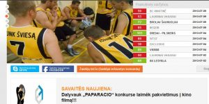 Support for Basketball league