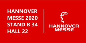 MEET US AT HANNOVER MESSE 2020!